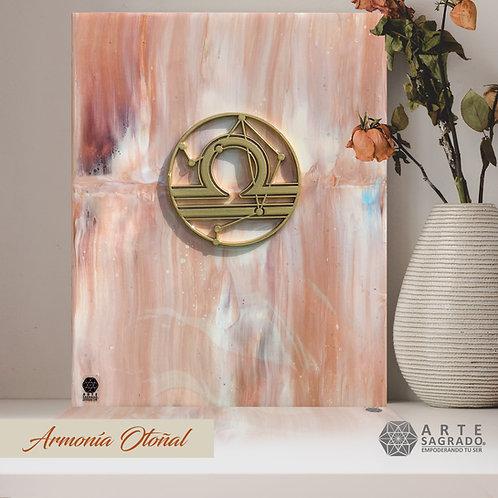 "Pintura Abstracta ""Armonía otoñal"""