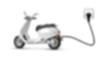 scooter électriqe - Chargement