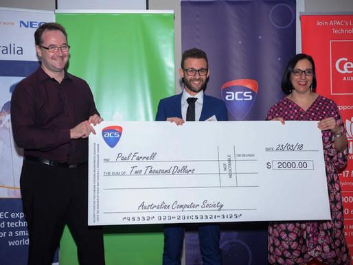 2018 ACS IT Journalism Awards winners