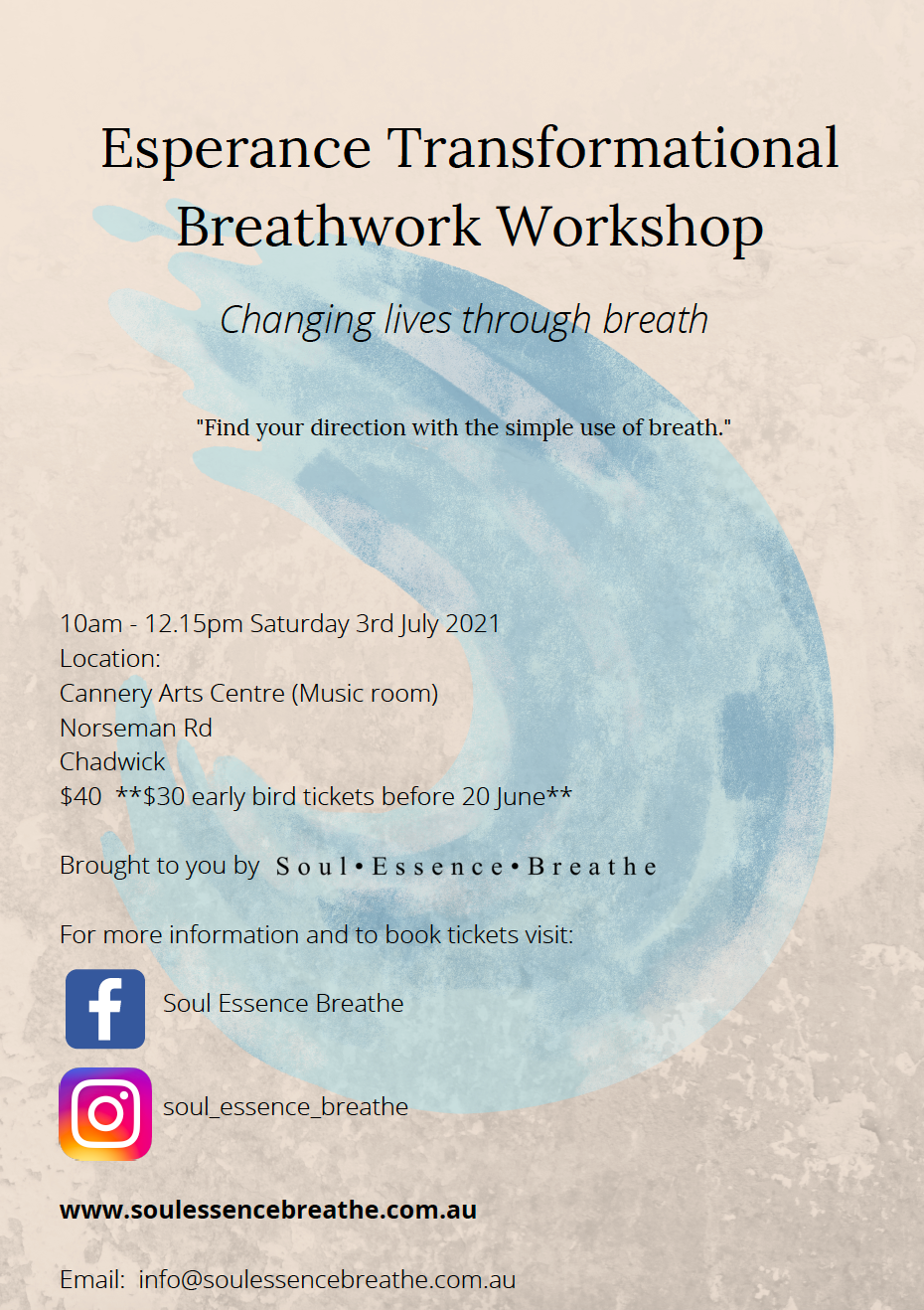 Esperance Transformational Breathwork Wo