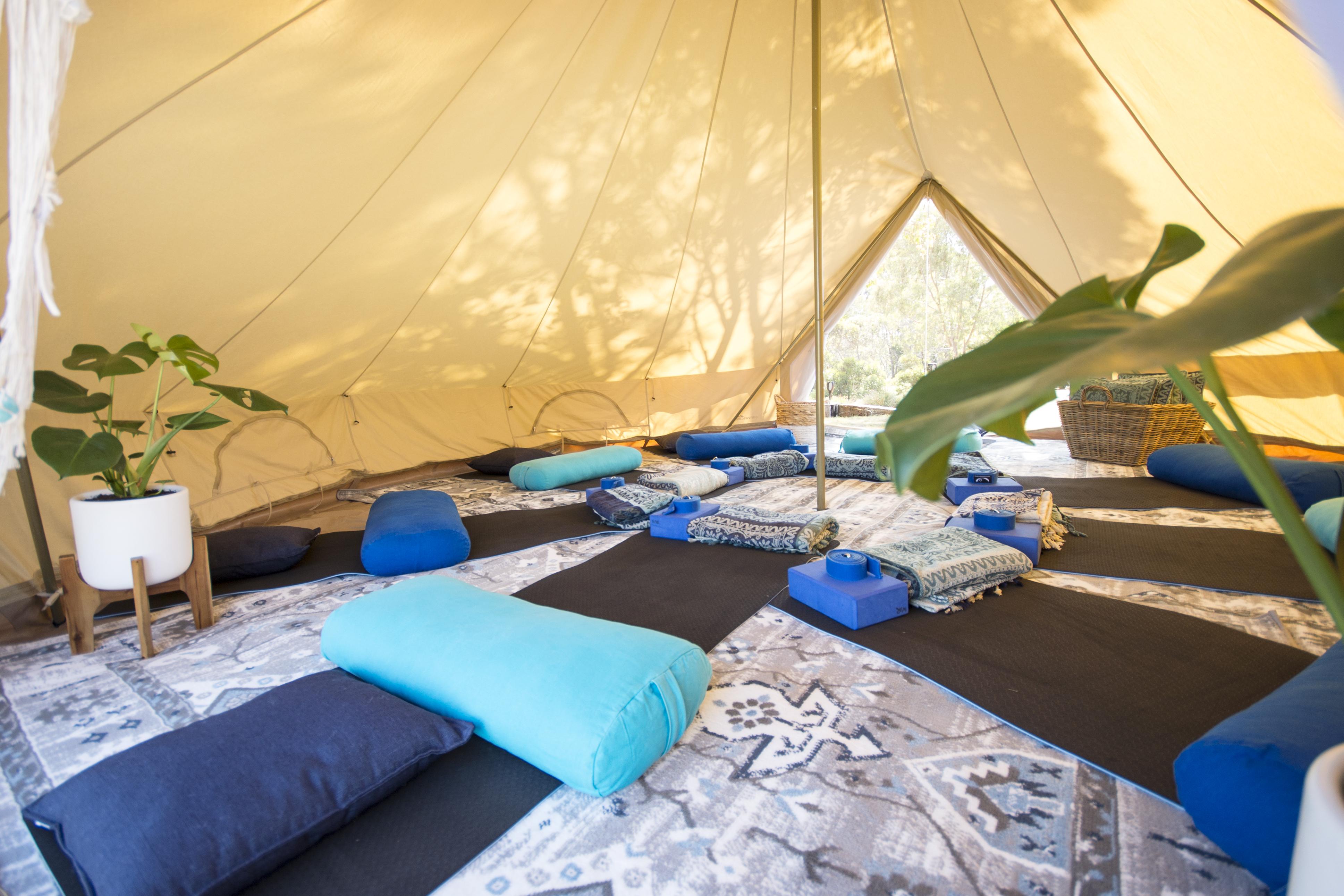 twilightyogastudioandretreats/bell-tent
