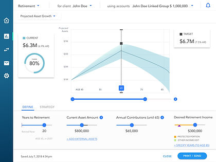 Collaborative Financial Planning Tool