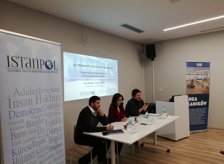 Alternative Politics Forum (3): Mainstream Media in Turkey and Current Alternatives