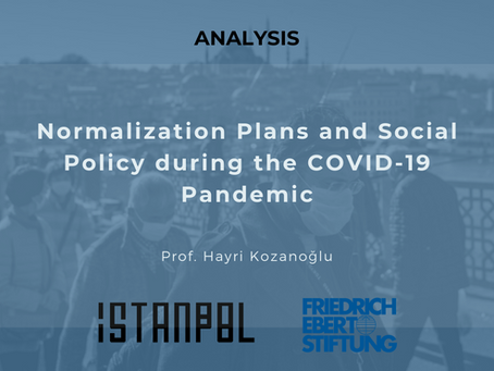 Normalization Plans and Social Policy during the COVID-19 Pandemic