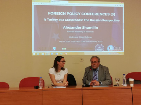 Foreign Policy Conferences (3): Is Turkey at a crossroads? The Russian perspective