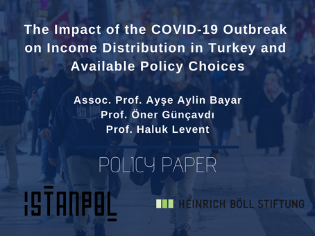 The Impact of the COVID-19 Outbreak on Income Distribution in Turkey and Available Policy Choices
