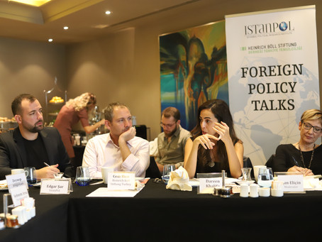 Foreign Policy Talks (4): The new phase in Syria: Actors, processes and possible scenarios