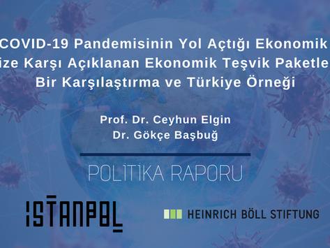 COVID-19 Pandemisine Karşı Açıklanan Ekonomik Teşvik Paketleri: Bir Karşılaştırma ve Türkiye Örneği