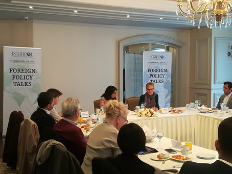 Foreign Policy Talks (1): Rise of Extreme Right and Foreign Policy: Europe & Turkey