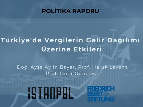 Türkiye'de Vergilerin Gelir Dağılımı Üzerine Etkileri
