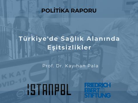 Türkiye'de Sağlık Alanında Eşitsizlikler