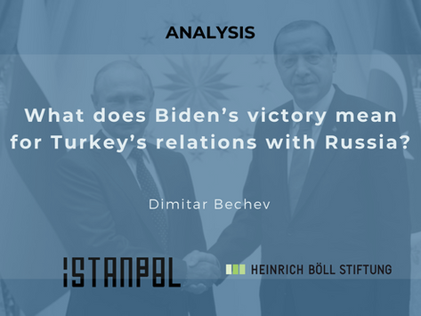 What does Biden's victory mean for Turkey's relations with Russia?