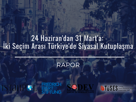 From June 24th to March 21st: Political Polarization In Turkey In Between Two Elections