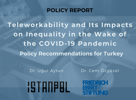 Teleworkability and Its Impacts on Inequality in the Wake of the COVID-19 Pandemic