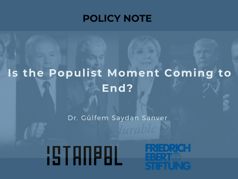 Is the Populism Moment Coming to an End?