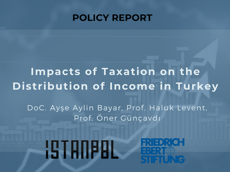 Impacts of Taxation on the Distribution of Income in Turkey