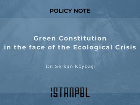 Green Constitution in the face of the Ecological Crisis