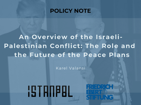 An Overview of the Israeli-Palestinian Conflict: The Role and the Future of the Peace Plans
