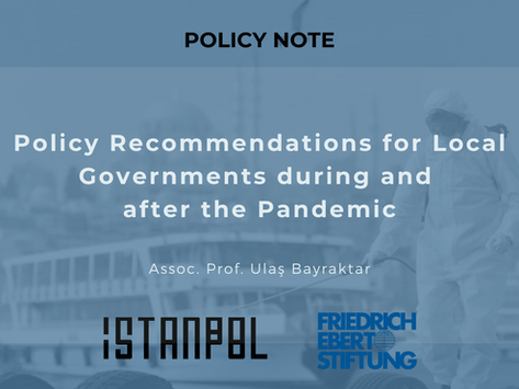 Policy Recommendations for Local Governments during and after the Pandemic