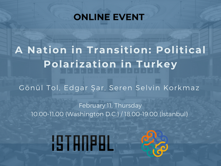Turkey: Trends and Drivers Shaping a Nation in Transition - Event Series by IstanPol & MEI