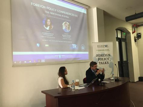 Dış Politika Konferansları (4): Suriye'de Yeni Dönem