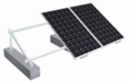 Estructura para paneles solares modelo Aluminio suelo.