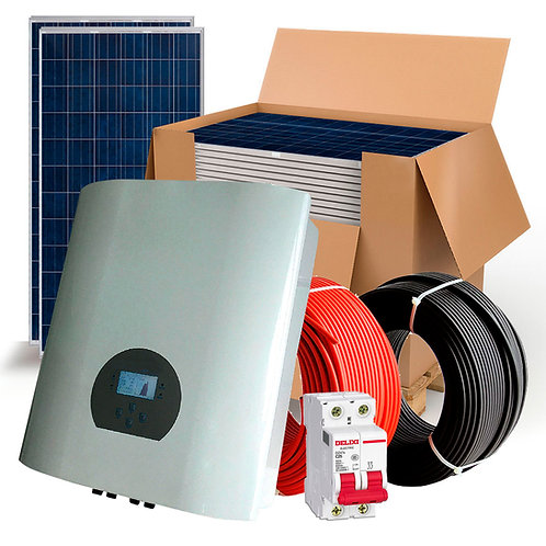Solar Kit 12KW Three-phase Self-consumption Network Injection