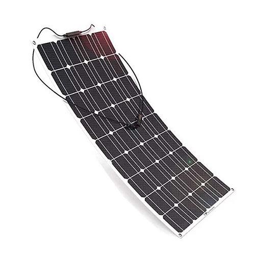 Panel solar Flexible 100w Monocristalino 12v EFTE