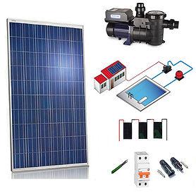 Kit Solar con Depuradora de Piscina WccSolar