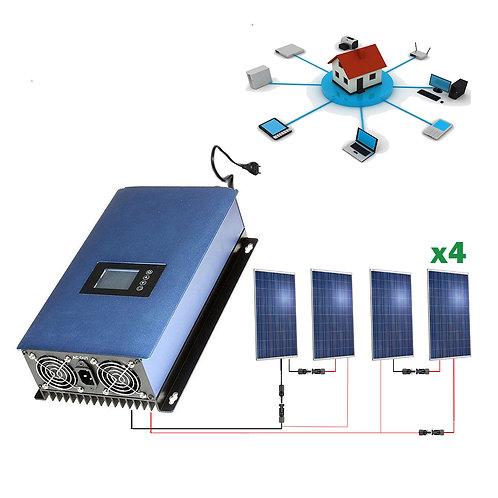 Kit solar 1000wh Autoconsumo Inyección a RED