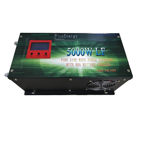 Solar inverter 5000w 12v Pure wave / 80A charger