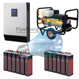 Conectar el generador al inversor-cargador solar