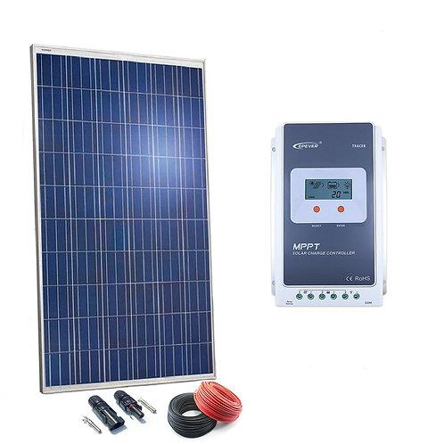 Kit Solar 24v 250w Regulador MPPT 20a con LCD