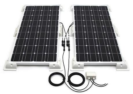 Estructura para paneles solares modelo Autocarvana.