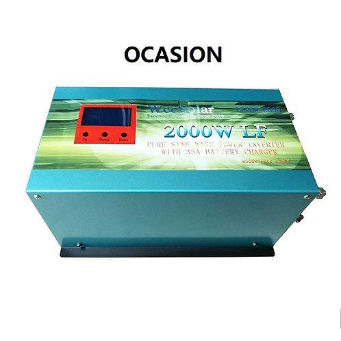 Solar inverter 2000w 12v Pure wave / Charger 35Ah WccSolar OCASION