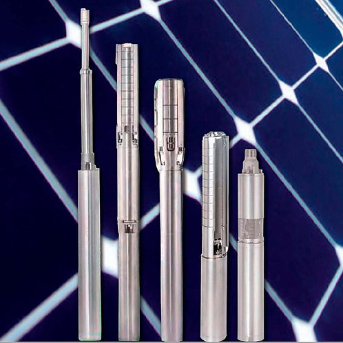 Hybrid Submersible Solar Pump Max Flow: 25 L / min Max Head: 200m ZIRI
