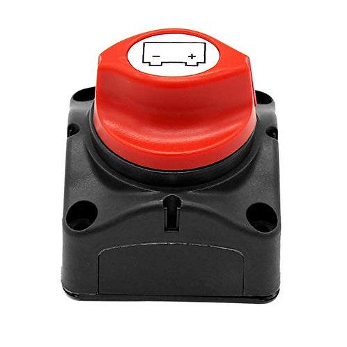 Interruptor de corrientes y Baterías de 600A ON OFF
