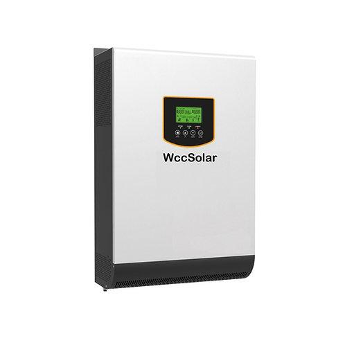 Inversor solar 3KW 24v híbrido Regulador MPPT 80A Cargador 30A
