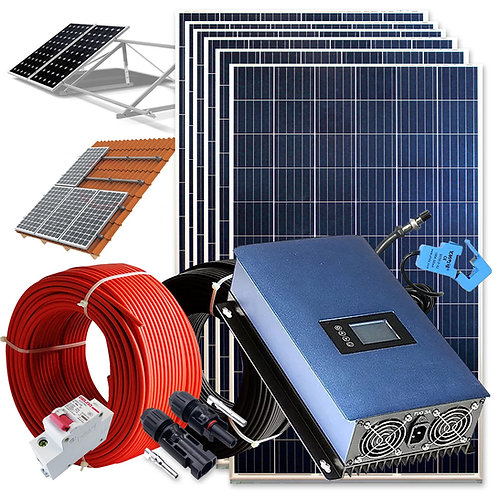 Solar kit 1500wh Self-consumption Injection to RED