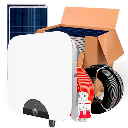 Kit solar HuaWei 5000wh Autoconsumo Inyección a RED