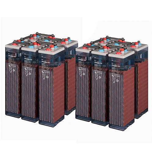 12 Turbo Energy 10 Opzs 1590 2V Batteries