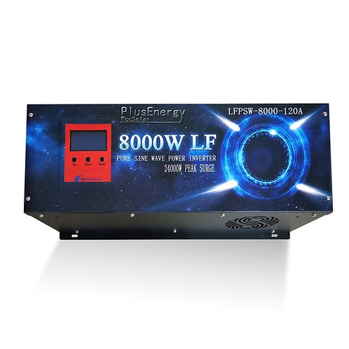 Solar inverter 8000w 48v Pure wave / 120A charger