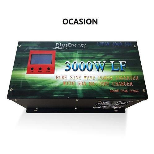 Solar Wechselrichter 3000w 12V Reine Welle / Ladegerät 50A GELEGENHEIT