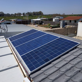 Instalación Solar Para Casa De Campo En Sevilla