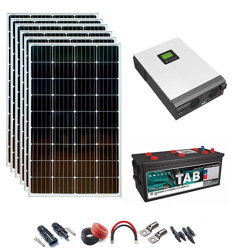 Solar Kit 24v 1500w Hybrid Inverter