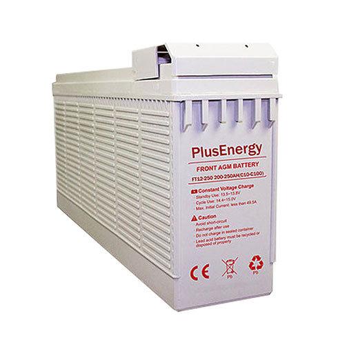 AGM 250Ah / 12v PlusEnergy FT12-250 solar battery