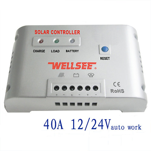 Regulador 60A 12V / 24V WELLSEE