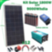 Kit Solar 12V WccSolar