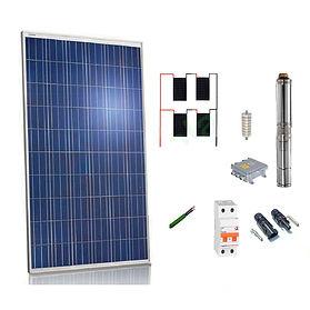 kit solar con bomba de agua WccSolar