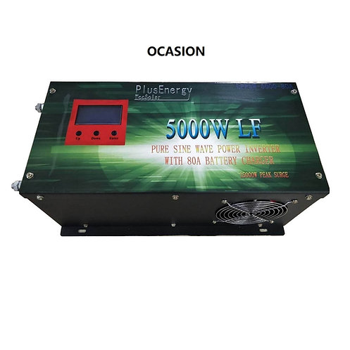 Inversor solar 5000w 12v Onda pura / Cargador 80A OCASION